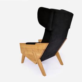 Fotel tapicerowany MEL012 VELVET