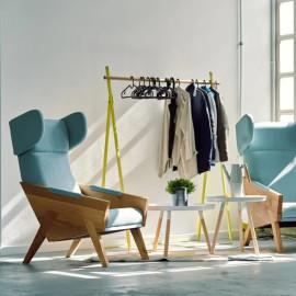 Fotel tapicerowany MEL013 WOOL