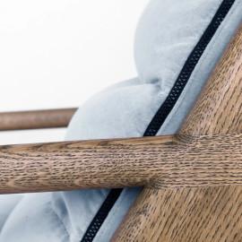 Fotel tapicerowany MEL016 VELVET