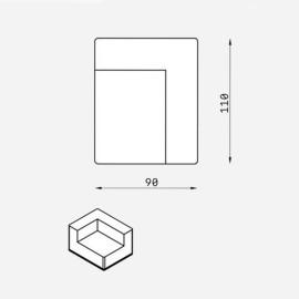 Fotel MEL018 VELVET